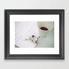Coffee-3 Framed Art Print
