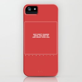 kenny (red) iPhone Case