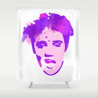 elvis Shower Curtains featuring ELVIS by BIG Colours