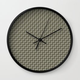 Tight Weave in CMR 03 Wall Clock