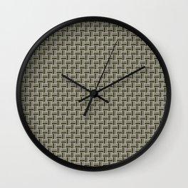 Tight Weave in CMR 03 Wall Clock