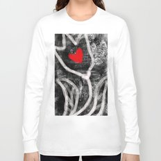tulip with heart Long Sleeve T-shirt