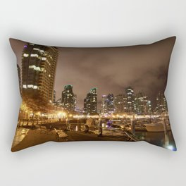 Coal Harbour Vancouver New Years Eve 2017 Rectangular Pillow