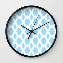 Daffy Lattice Sky Wall Clock