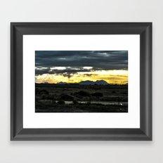 Cometh Framed Art Print