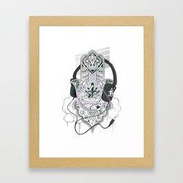 Hamsahand Framed Art Print