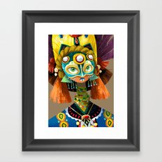 Part Of A Tribe Framed Art Print