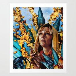 Agave Maria Art Print