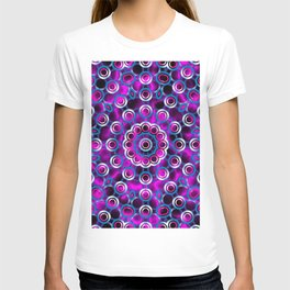 Mandala Overlapping Circles Pattern T-shirt