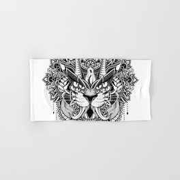 Tiger Mandala Hand & Bath Towel