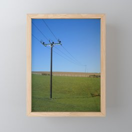 PARALLEL LINES Framed Mini Art Print