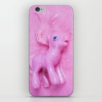 pony iPhone & iPod Skins featuring Pony  by Laurence Philomene