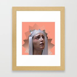 Our Lady of Sorrows. Framed Art Print