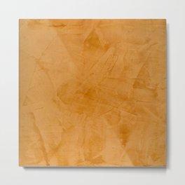 Tuscan Orange Stucco - Corbin Metal Print