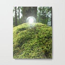 Eco Lamp Metal Print