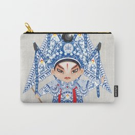 Beijing Opera Character ZhaoYun Carry-All Pouch