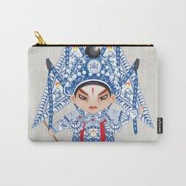 Beijing Opera Character ZhaoYun Carry-All Pouch