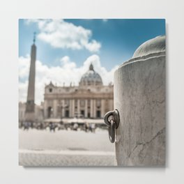 st. peter in rome Metal Print