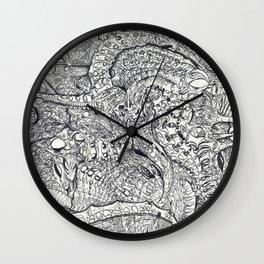 ' Vardraxnadrania ' By: Matthew Crispell  Wall Clock