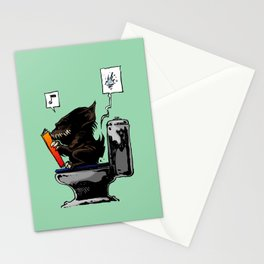 Moment of throne Stationery Cards