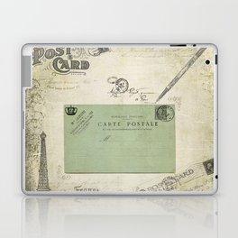 Vintage Grunge - Postcards & Travels Laptop & iPad Skin