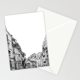 Street in Paris Stationery Cards