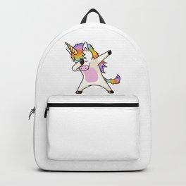 Dabbing Unicorn Dap Pose Backpack