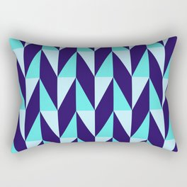 Dancing Chevron 2 Rectangular Pillow