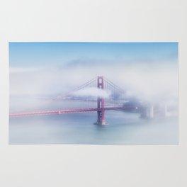 Foggy Golden Gate Bridge Rug