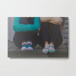 wool socks. Metal Print