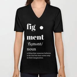 fig·ment Merchandise Unisex V-Neck