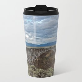 Rio Grande Gorge Bridge Metal Travel Mug