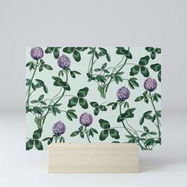 Live in a clover Mini Art Print