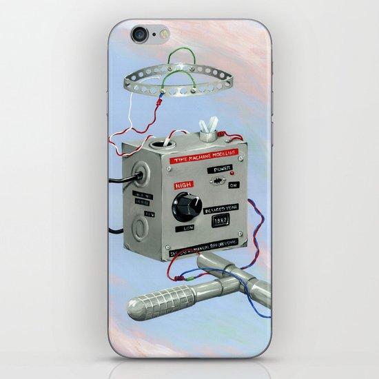 Uncle Rico's Time Machine iPhone & iPod Skin