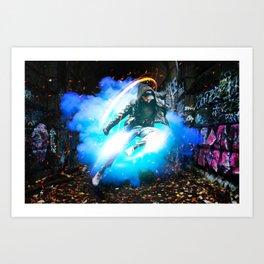 Urban Graffiti by GEN Z Art Print