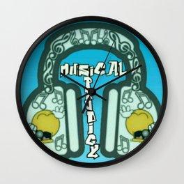 Musical Prodigy Wall Clock