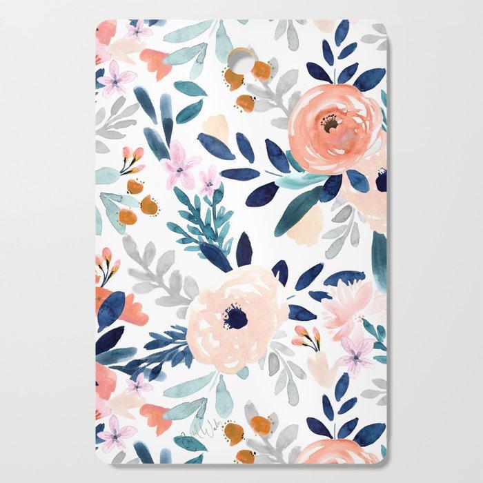 Jolene Floral Cutting Board