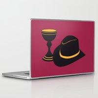 indiana jones Laptop & iPad Skins featuring Indiana Jones and the Last Crusade by FilmsQuiz