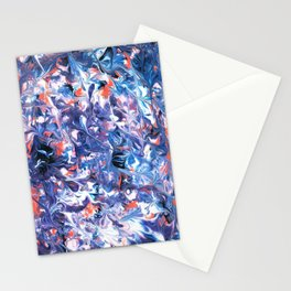 Under Sea Coral Stationery Cards