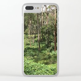 Get lost to find yourself Clear iPhone Case