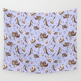Sea Otters Wandbehang