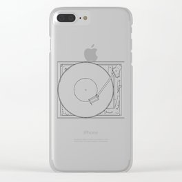 Turntable Clear iPhone Case