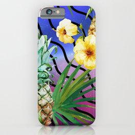 Tropical Space #4 iPhone Case