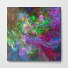 Tell me what is color Metal Print