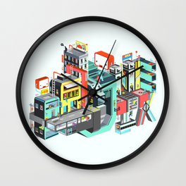 Next Stop Wall Clock
