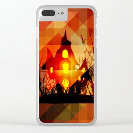 Hallow's light Clear iPhone Case