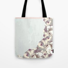 Orchid waterfall Tote Bag