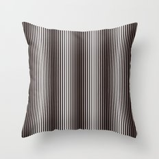 B&W Lines Throw Pillow
