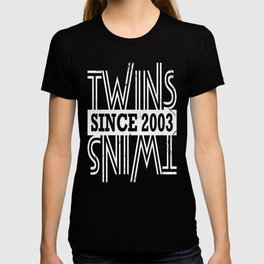 Twins-Since-2003---14th-Birthday-Gifts T-shirt