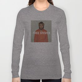 Free Steven Long Sleeve T-shirt